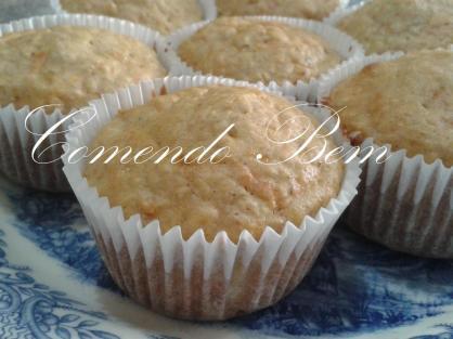 muffin de aveia e cenoura