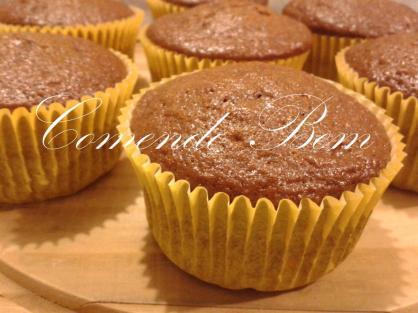Cupcake de Pão de Mel