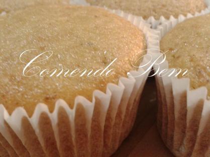 Cupcake de Maçã Blog