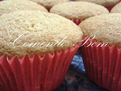 Cupcake de Paçoca Blog
