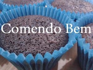 Cupcake de Alfarroba e Mel_blog